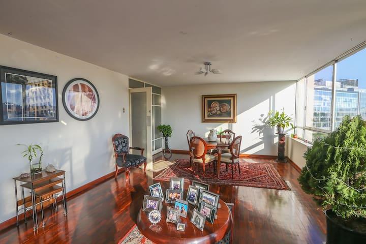 Habitación con Gran Vista en Miraflores - ลิมา - อพาร์ทเมนท์