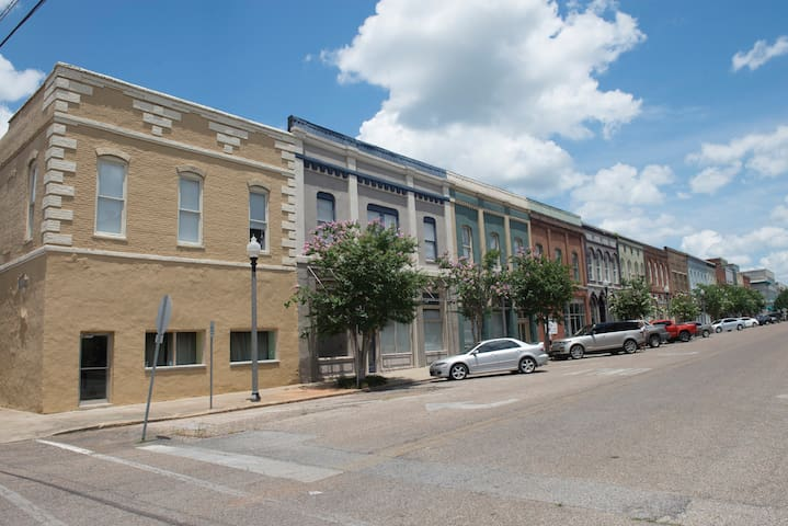 Downtown Meridian historic 1 bed, 1 ba 1100 sqft