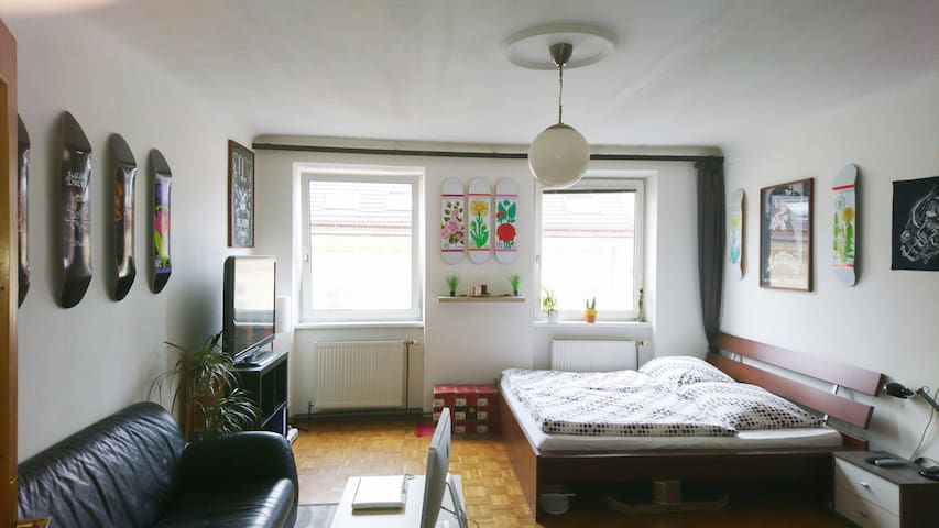 Big bright room in Vienna - Viyana - Daire