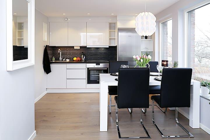 Exklusiv och lyxig nybyggd lägenhet