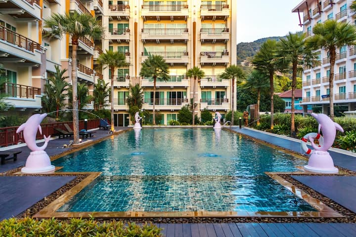 Phuket Villa Patong apartment, with pool & gym!