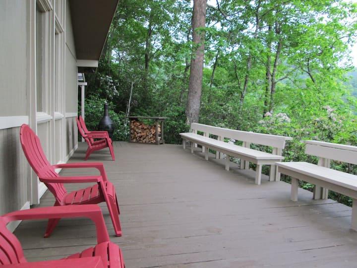 Cozy Hiawassee Ridge Top Cabin - A World Away