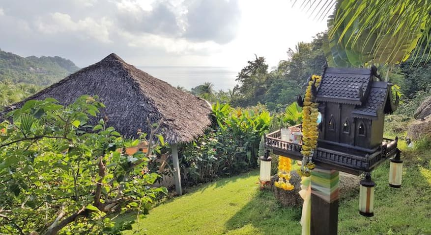 Two Beds  Bungalow with sea view & free breakfast! - Ko Pha-ngan - Bungalow