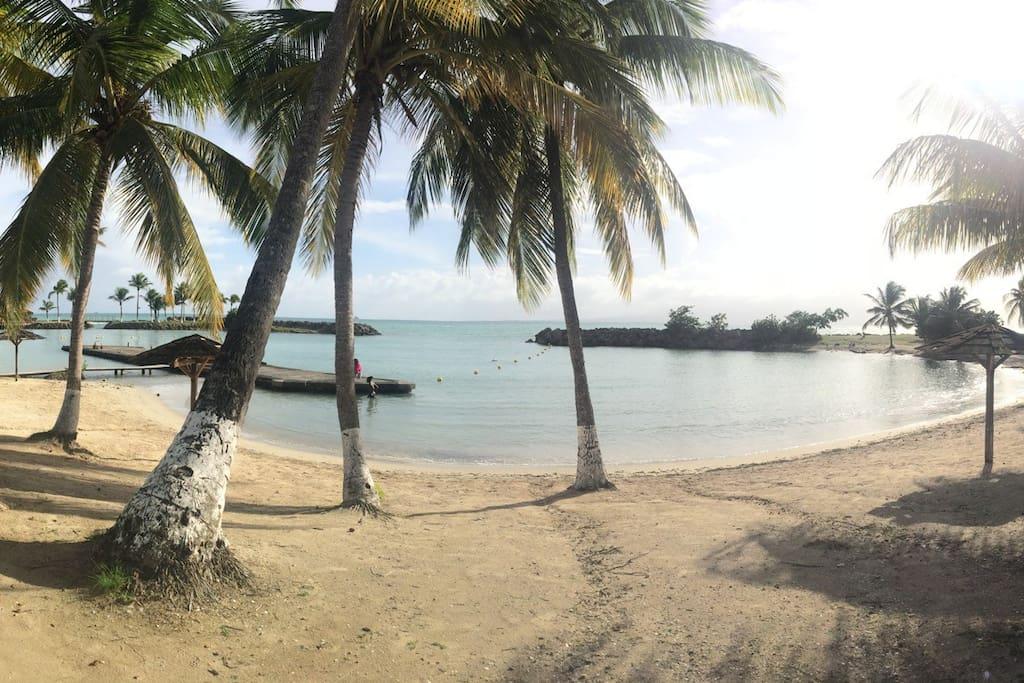 La plage, la mer...