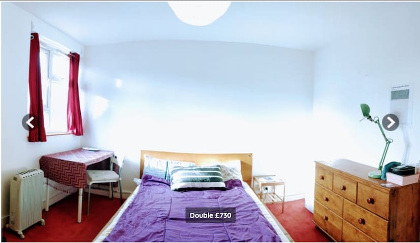 London Fields! - Large, bright double room.