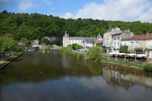 """Over the border into Dordogne and just a 35 minute drive is Brantome, """"The Venice of The Perigord"""".  This has been listed as one of the most beautiful places to visit.  Friday mornings feature the weekly market."""