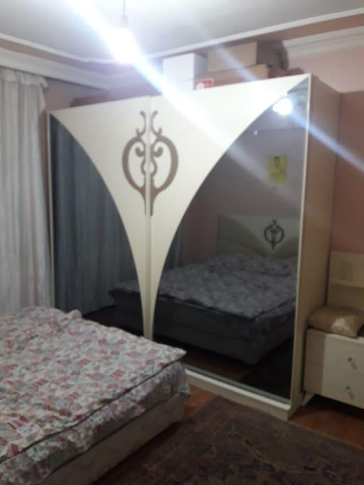 Çift Kişilik Yataklı Oda / Room for 2 people