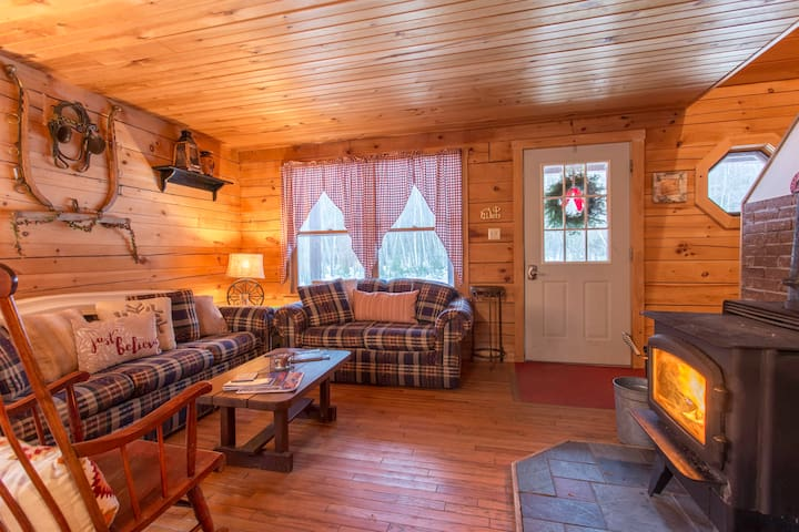 Pine Mountain Cabin - Less than 15mn to SRiver - Bethel - Chalet