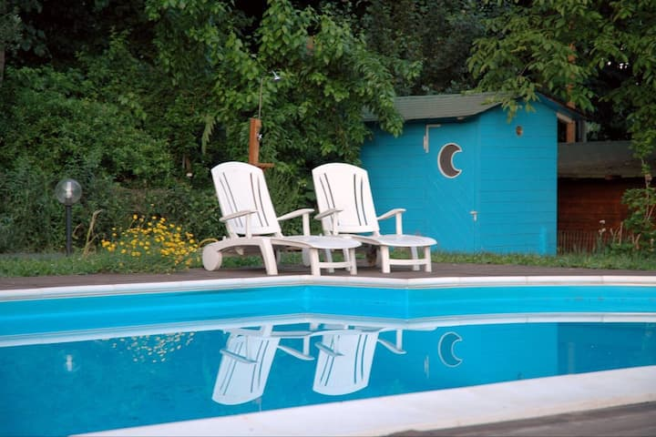Relaxing flat close to Rome+private swimming pool