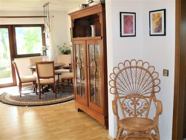 *Traumhafte Ferienwohnung 110qm, Garten + Terrasse - Gernsbach - Appartement