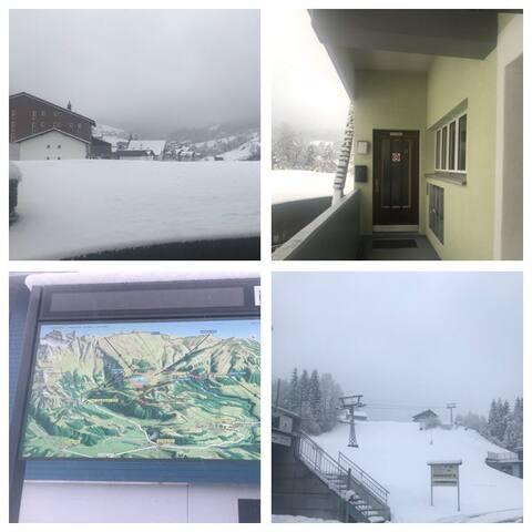 Ferienwohnung Skigebiet Yberg