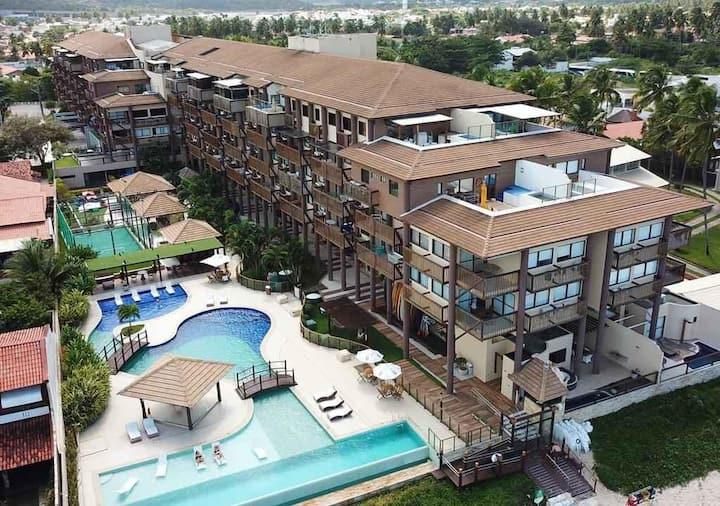 Barra Bali: Condomínio Resort a Beira Mar PARAÍSO