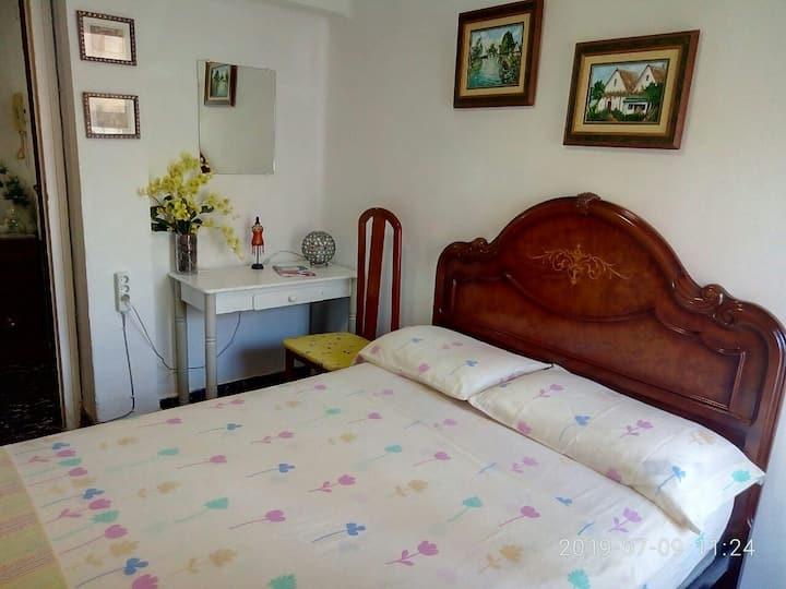 The room near the Marina of Valencia