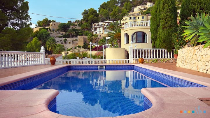 CABANILLAS -  Villa for rent for family of 4 people on the Benissa coast