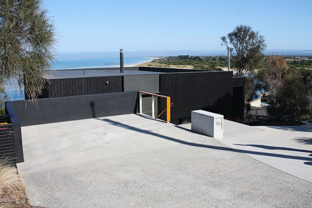Front of House showing car parking