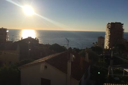 On the Monaco Border - Roquebrune-Cap-Martin