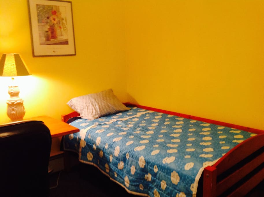 Twin bed #1