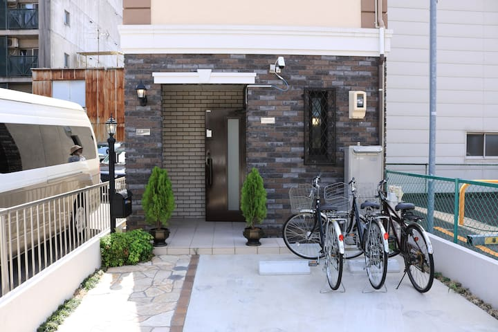 [#101] Chiyoda Home  Osu/Sakae/ Onsen /Bicycle