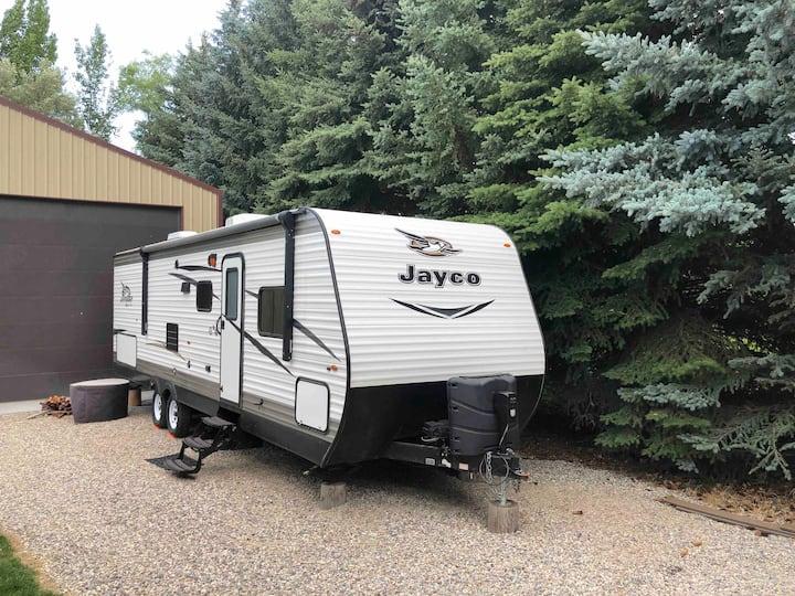 S.E Idaho Quiet Neighborhood. New Jayco trailer.