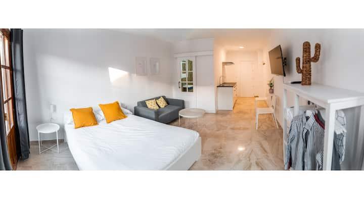 Apartamento en el centro de Ronda con piscina.