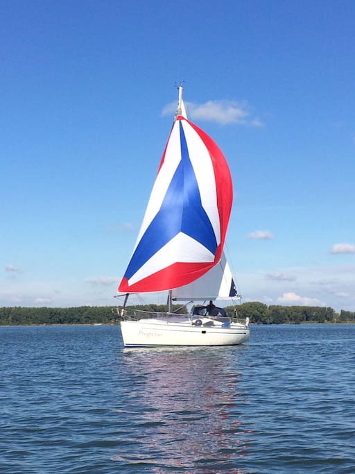 "Under sail - Sailing yacht ""Progresso"""