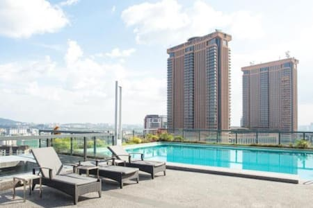 1 BR near Pavilion,SG Wang,LOT10,TS - Apartment
