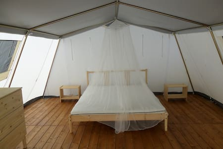 Tenda lodge in complesso con piscina - Tent