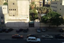 big, sunny room in the heart of Cairo.