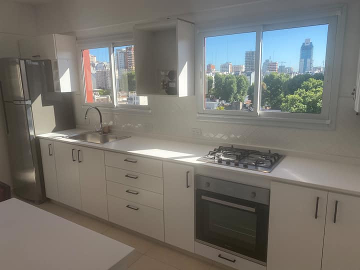 Gorgeous 2 bdr, big balcony w view in Belgrano