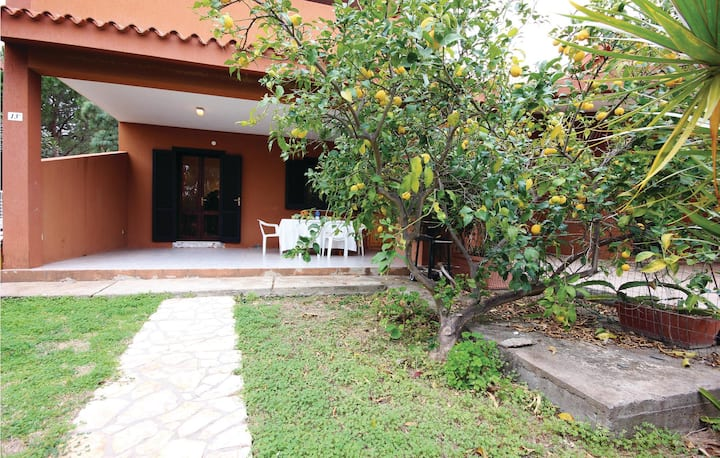Amazing home in Costa Rei -CA- with 2 Bedrooms