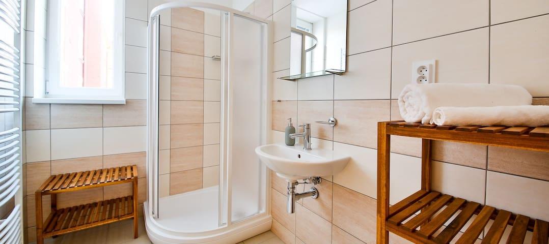 Elegantní apartmán s parkováním a možností snídaní - Ostrava - Huis