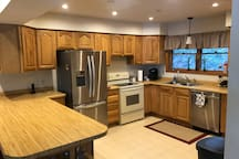 Spacious Kitchen with lots of counter space