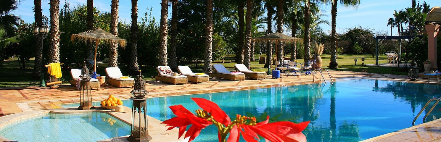 Une Maison d'Hôtes dans un Verger - Marrakesh - Villa