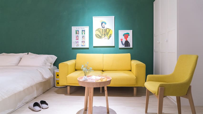 Illustrator Art Apartment/Sanlitun/Cactus Space