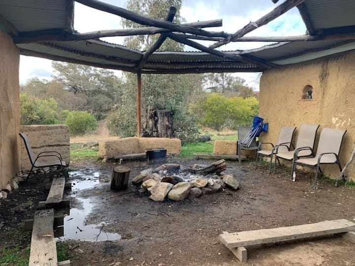 Camping - Shearing shed