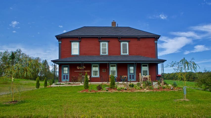 """Gillespie Homestead"" in the St John River Valley"