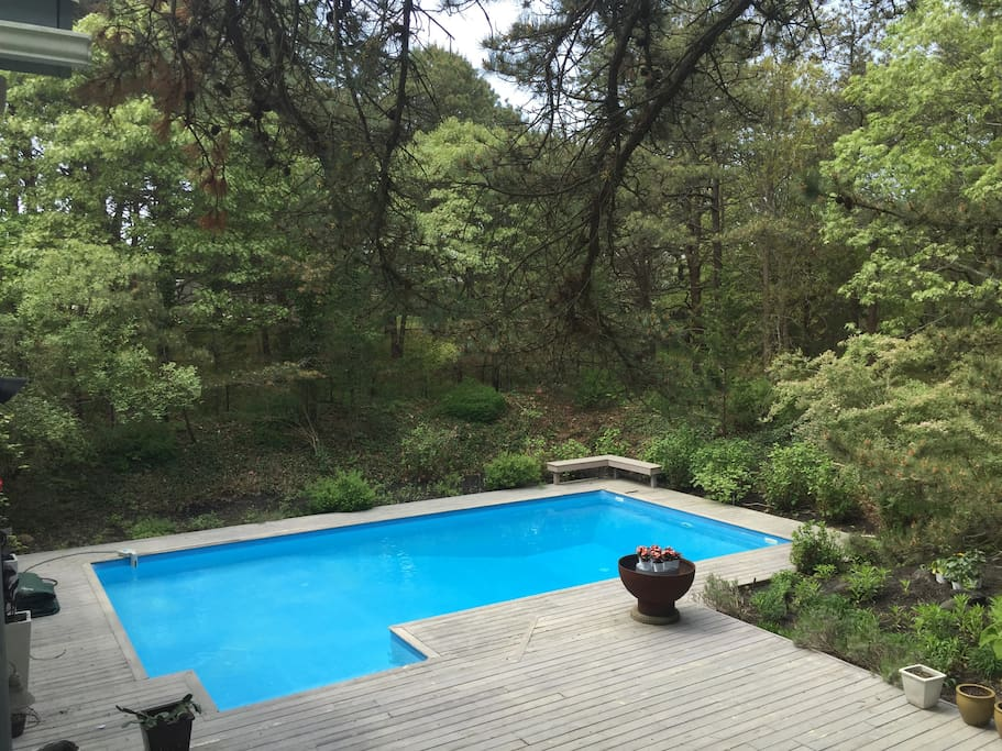 Natural Filtration, Heated Pool
