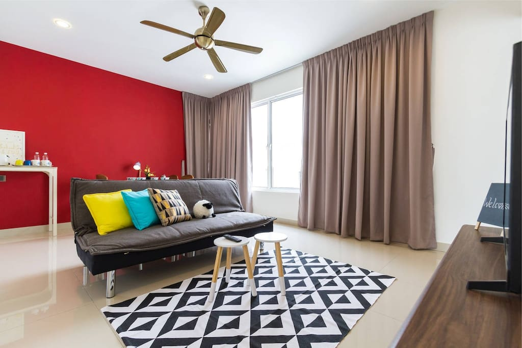 Private Living Room, with Smart TV (aircon)