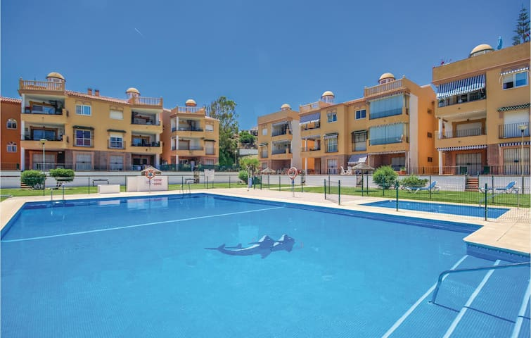 Holiday apartment with 2 bedrooms on 82m² in Mijas Costa