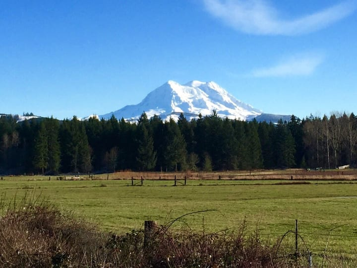 Quiet Oasis in Eatonville near Mount Rainier