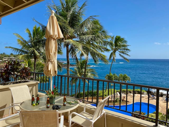 Whalers Cove 230: Oceanfront Pool & Hot Tub Drive Your Free Midsize Rental Car Down To This Tucked-Away Treasure