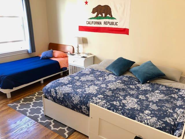 Sunny room near Golden Gate Park & UCSF