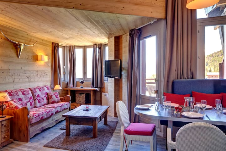 GBA604 - NICE AND COSY APARTMENT SKI IN SKI OUT - LA TANIA - Lejlighed