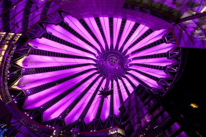 Sony Center Top Floor with an incredible View