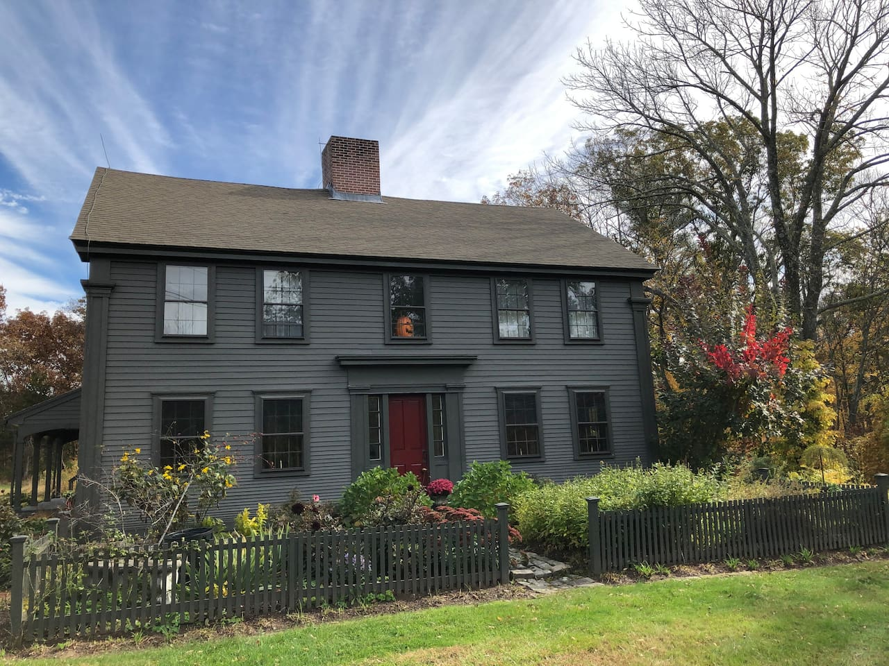 Halfway between Providence and Worcester, Emerson Brook is perfect place to stay when working in either city