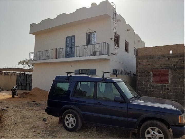 Appart 1 Chambres Salon climatisées avec terrasse