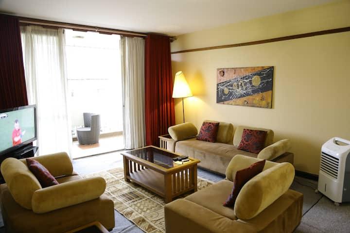 2 bedroomed Furnished Apt