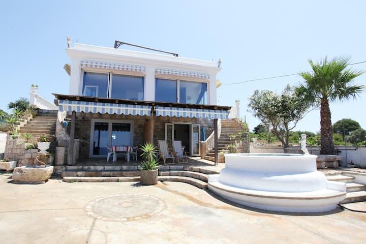 Beautiful flat in Villa 250 m sea Smleuca