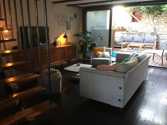 LOFT VITICOLE AVEC PISCINE - Cuxac-d'Aude - Apartamento