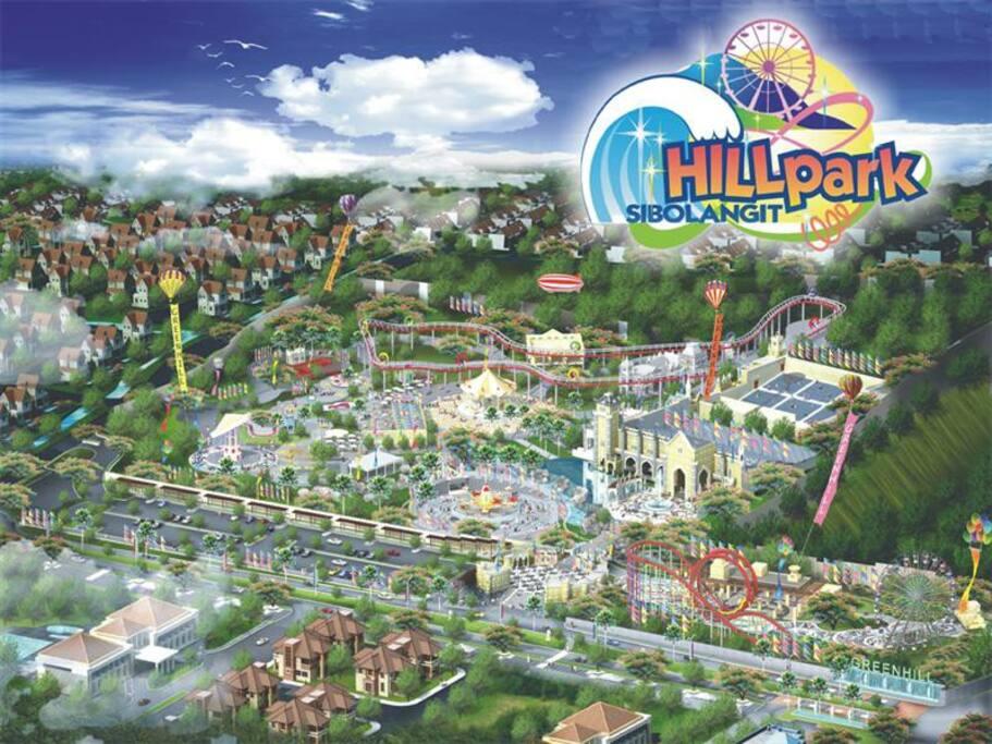 Hill Park from Birdeye